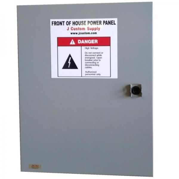 Front of House Power Panels